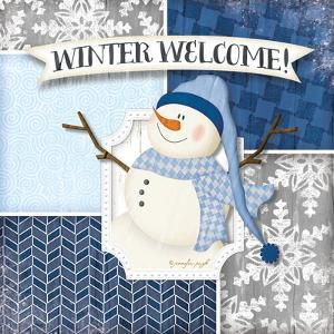 Winter Welcome - Snowman by Jennifer Pugh