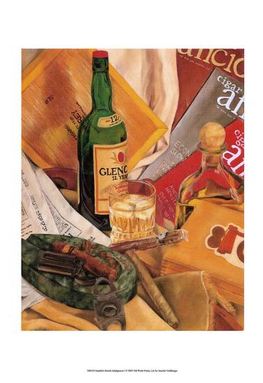 Jennifer's Scotch Indulgences I-Jennifer Goldberger-Art Print