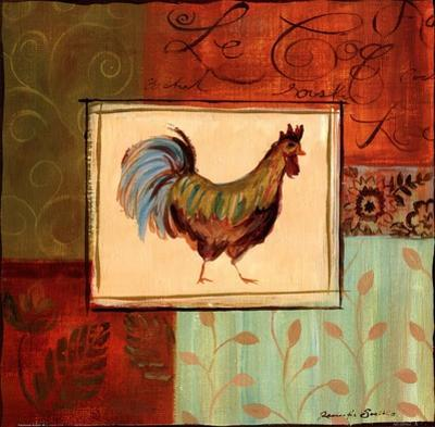 Patchwork Rooster IV