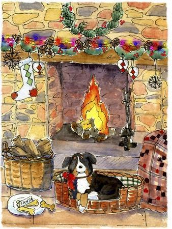 Fireside Dog