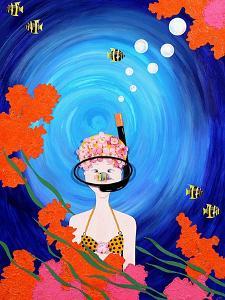 Scuba Diva, 2008 by Jenny Barnard