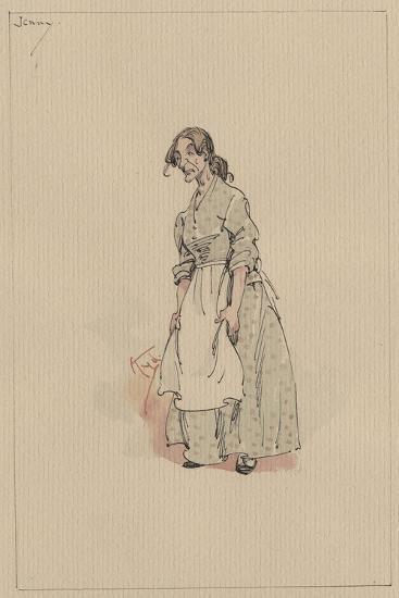 Jenny, C.1920s-Joseph Clayton Clarke-Giclee Print