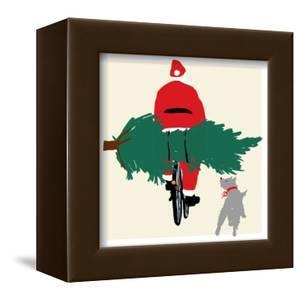 Spruced Up Santa by Jenny Frean