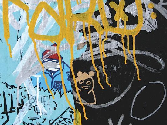 jenny-kraft-yellow-aqua-graffiti-ii