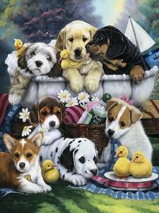 Bath Time Pups by Jenny Newland