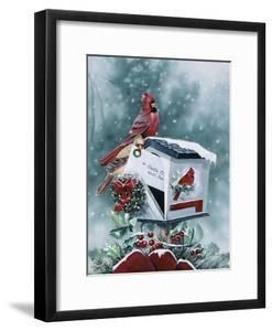 Christmas Cardinals by Jenny Newland