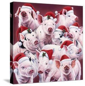 Christmas Piggies by Jenny Newland