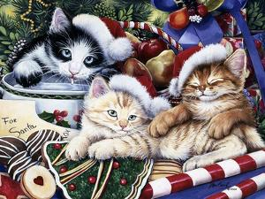 Meowy Christmas 2 by Jenny Newland