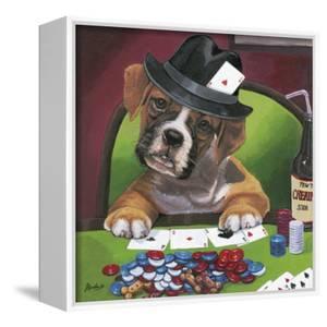 Poker Dogs 2 by Jenny Newland