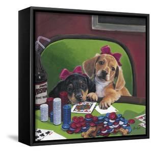 Poker Dogs 3 by Jenny Newland