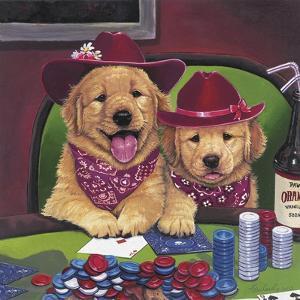 Poker Dogs by Jenny Newland