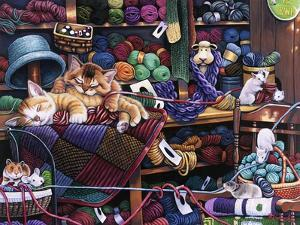While Kittens are Away Mice Will Play by Jenny Newland