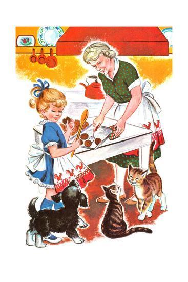 Jenny's Secret - Jack & Jill-Irma Wilde-Giclee Print