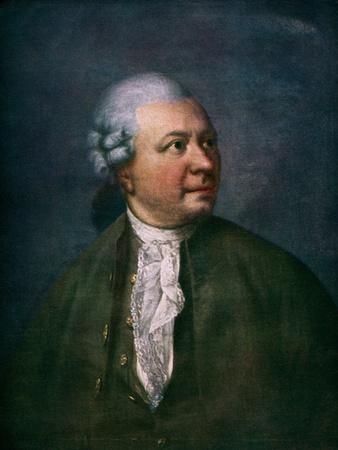 Friedrich Klopstock portrait Painting
