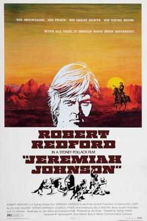 Jeremiah Johnson, Top: Robert Redford, 1972