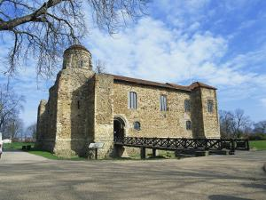 Colchester Castle, the Oldest Norman Keep in the U.K., Colchester, Essex, England, UK by Jeremy Bright