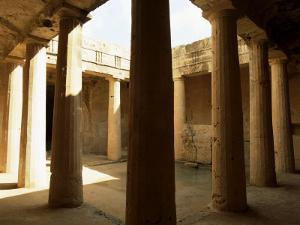 Peristyle Tomb III, Tomb of the Kings, Cyprus by Jeremy Bright