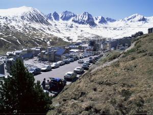 Ski Resort on French Border, Pas De La Casa, Andorra, Pyrenees by Jeremy Bright