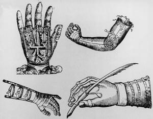 Selection of 16th Century Artificial Arms & Hands. by Jeremy Burgess