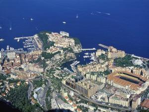 Aerial View of Monaco in the Summer by Jeremy Lightfoot