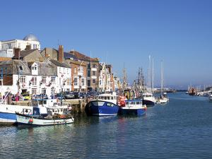 Old Town and Harbour, Weymouth, Dorset, England, United Kingdom, Europe by Jeremy Lightfoot