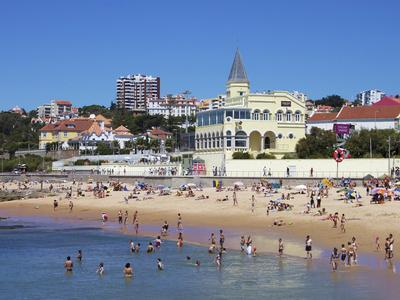 Tamariz Beach, Estoril, Portugal, Europe