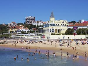 Tamariz Beach, Estoril, Portugal, Europe by Jeremy Lightfoot