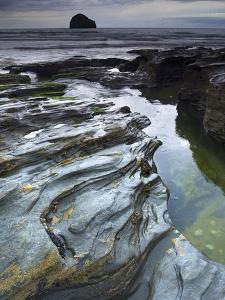 Trebarwith Strand, Cornwall, England, United Kingdom, Europe by Jeremy Lightfoot
