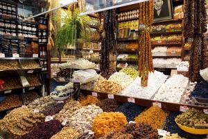 Fruit And Nuts Market Stall, Istanbul by Jeremy Walker
