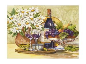 Wine & Daisies by Jerianne Van Dijk