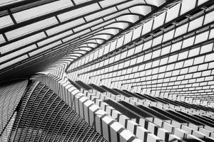 Lines in Liege by Jeroen Van
