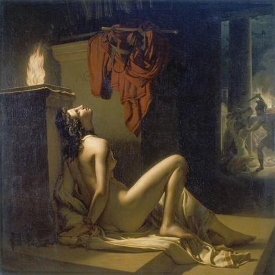 Cassandra Erfleht Minervas Rache Gegen Ajax