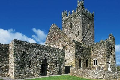Jerpoint Abbey, Cistercian Abbey, Founded in 1158, County Kilkenny, Ireland--Giclee Print