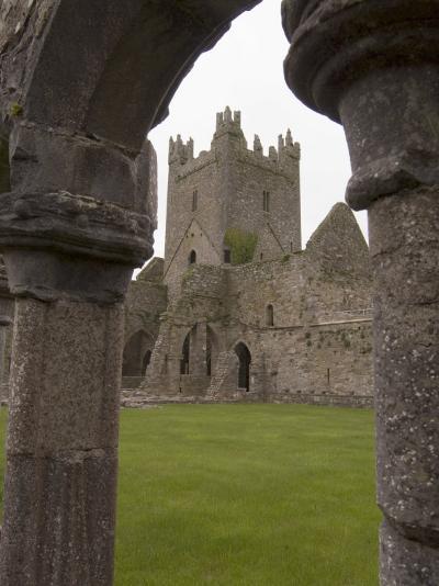Jerpoint Abbey, County Kilkenny, Leinster, Republic of Ireland (Eire), Europe-Sergio Pitamitz-Photographic Print