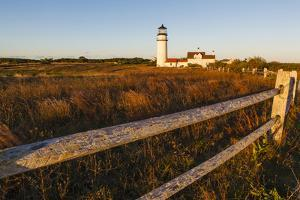 Cape Cod Lighthouse, A.K.A. Highland Light, in the Cape Cod National Seashore. Truro Massachusetts by Jerry and Marcy Monkman