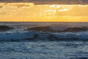 Dawn over the Atlantic Ocean at Coast Guard Beach , Eastham, Massachusetts by Jerry and Marcy Monkman