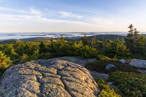 Glacial Striations , Maine's Acadia National Park by Jerry and Marcy Monkman