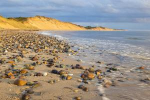 Low Tide on Duck Harbor Beach in Wellfleet, Massachusetts by Jerry and Marcy Monkman
