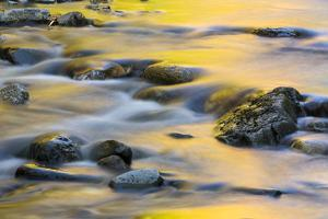 Nash Stream in Reddington Township, Maine. High Peaks Region. Fall by Jerry and Marcy Monkman