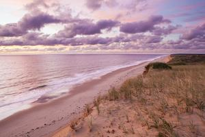 Sunrise View from the Marconi Station Site , Wellfleet, Massachusetts by Jerry and Marcy Monkman