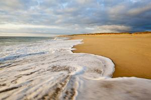 Surf at Coast Guard Beach in the Cape Cod National Seashore in Eastham, Massachusetts by Jerry and Marcy Monkman