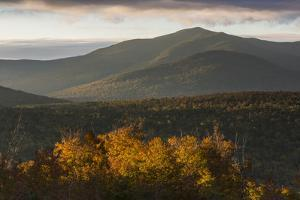 The Horn as Seen from Reddington Township in Maine's High Peaks Region. Saddleback Mountain by Jerry and Marcy Monkman