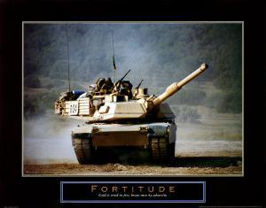 Fortitude: Tank on the Move by Jerry Angelica