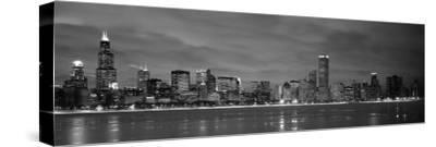 Chicago - B&W Reflection