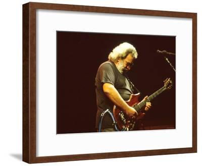 Jerry Garcia--Framed Premium Photographic Print