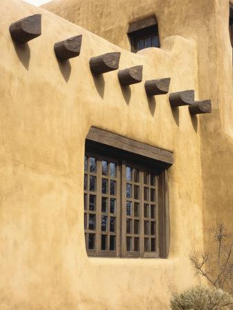 Adobe Architecture, Santa Fe, New Mexico, USA