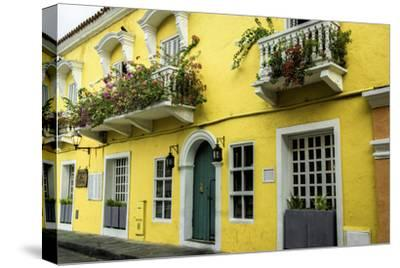 Architecture in the San Diego Part of Old City, Cartagena, Colombia
