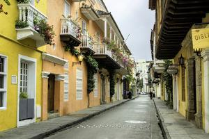 Architecture in the San Diego Section, Cartagena, Colombia by Jerry Ginsberg