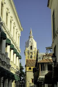 Cathedral Santa Catalina de La Alejandria, Cartagena, Colombia by Jerry Ginsberg