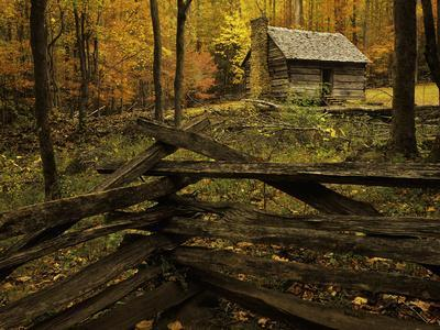 Cole Cabin, Great Smoky Mountains National Park, Tennessee, USA